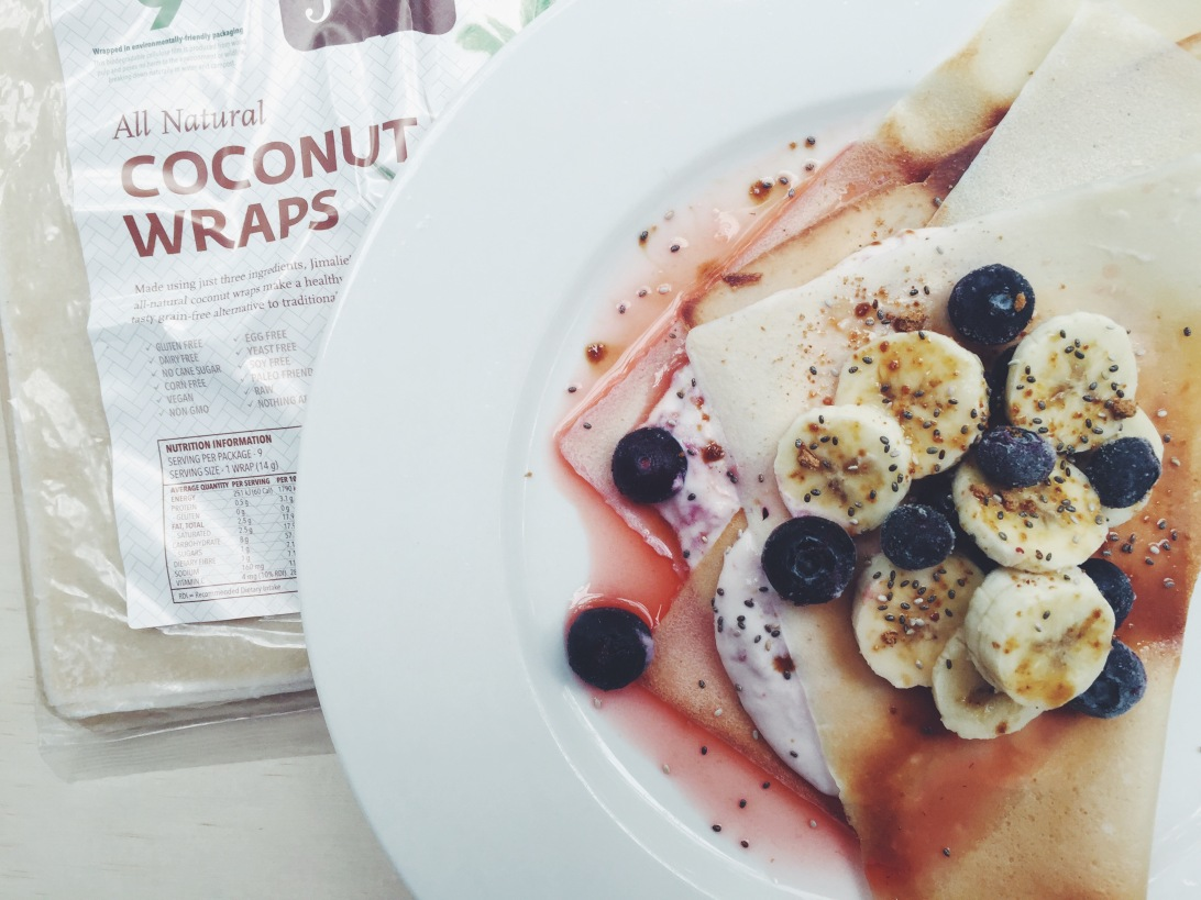 Healthy Berry & Ricotta Crepes!