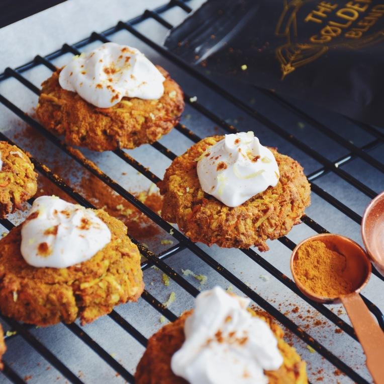 Tumeric cookies